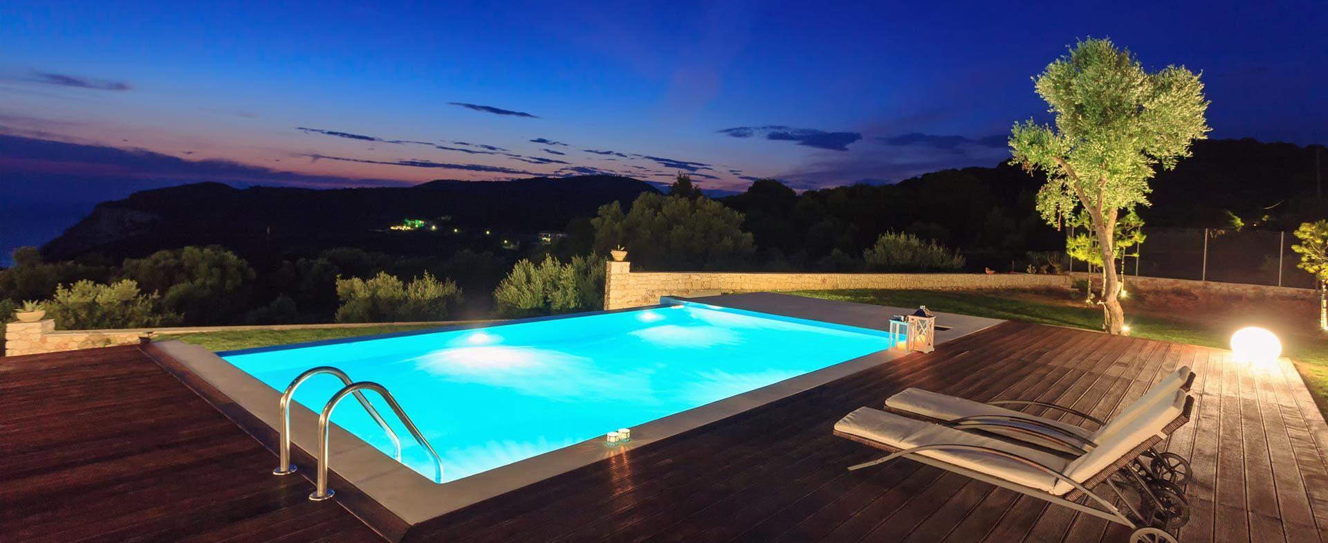 piscine interrate personalizzate
