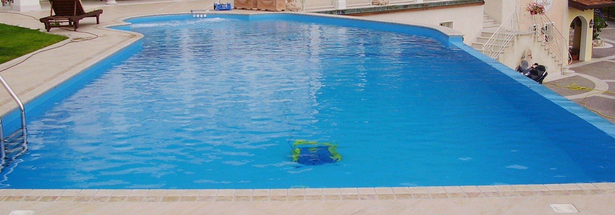 robot piscina professionale